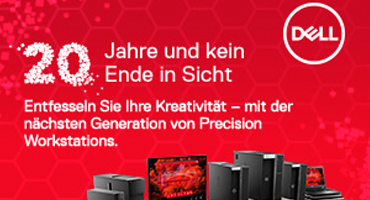 20 Jahre Dell Precision Systeme - 20 Jahre Innovation
