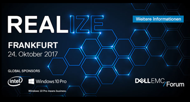 DELL EMC Forum 2017 - Realize Your Digital Future