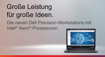 Die neuen DELL Precision Workstation