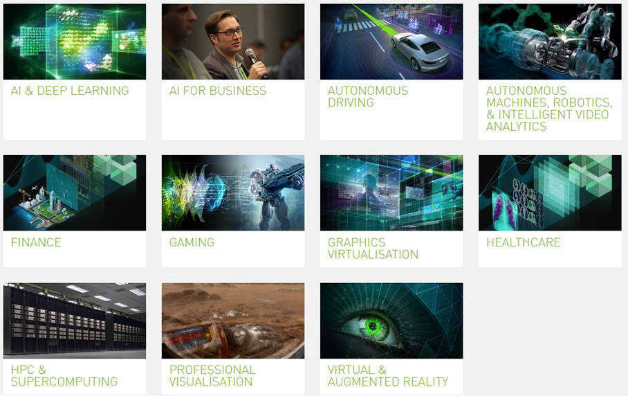 Nvidia GTC Europe 09.-11.10.2018 in München