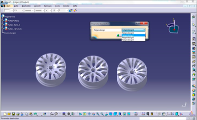 CATIA V5 Product Synthesis