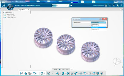 CATIA 3D Experience Product Synthesis